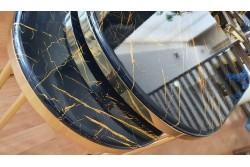 Masa Cafea Ovala Steel&Style