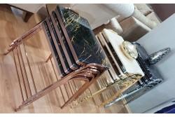 Set masute zigon Steel & Style